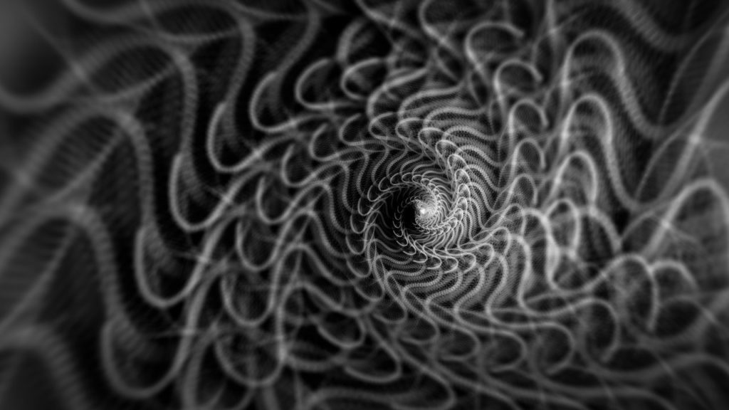 spiral-design-on-cloth-Photo by Frank Cone