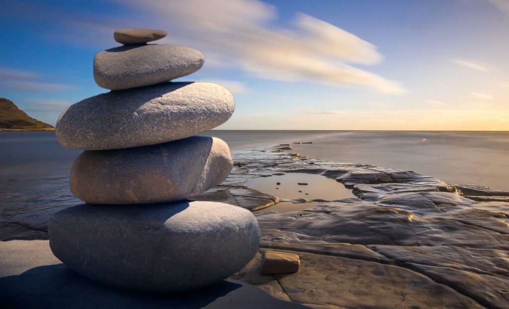 background-balance-beach-boulder-289586 Photo by Pixabay