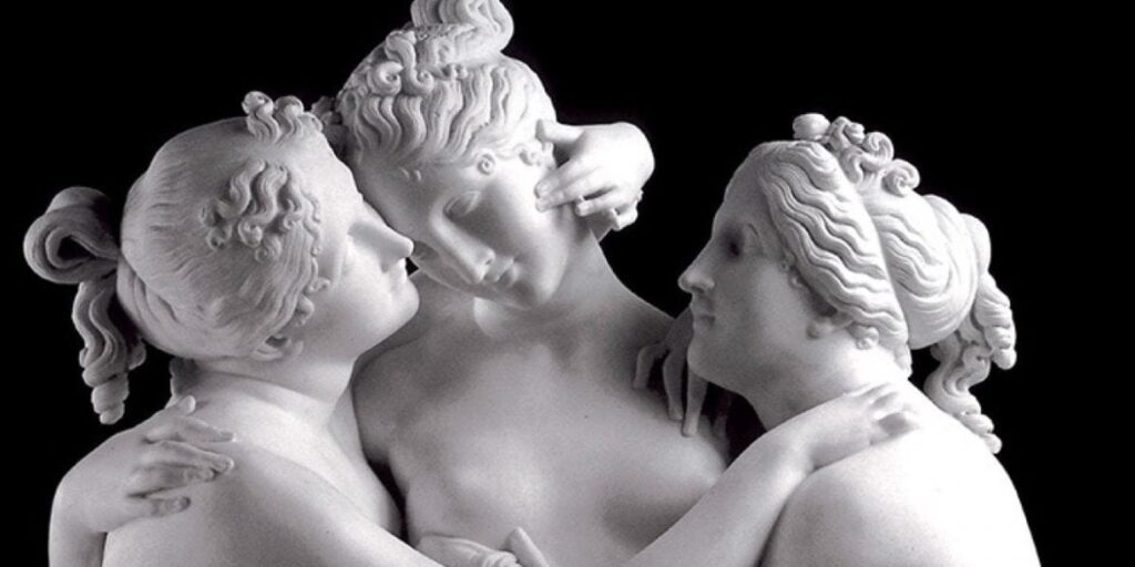 The Three Graces by Canova